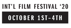 International Film Festival October 3rd-6th 2019