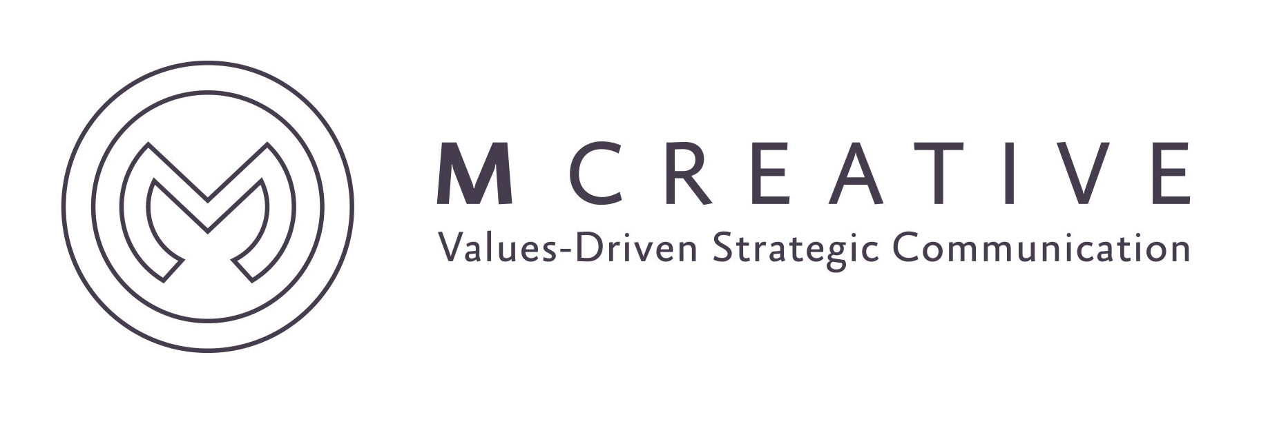M Creative logo
